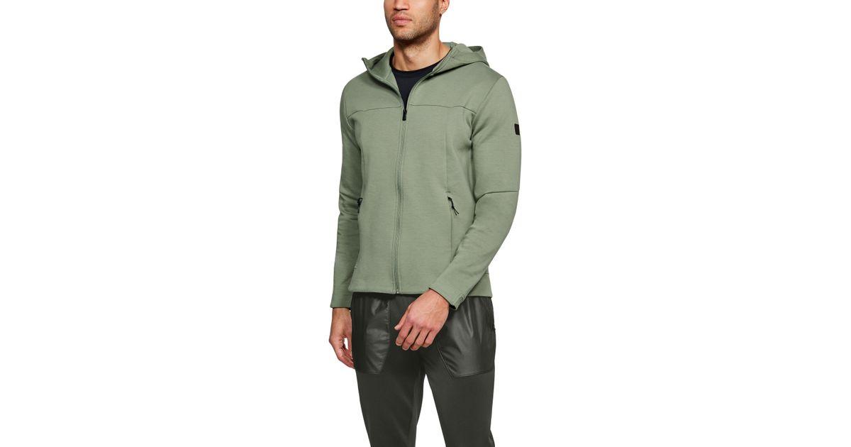 e7ee486f5 Under Armour Men's Ua Sportstyle Elite Utility Full Zip in Green for Men -  Lyst
