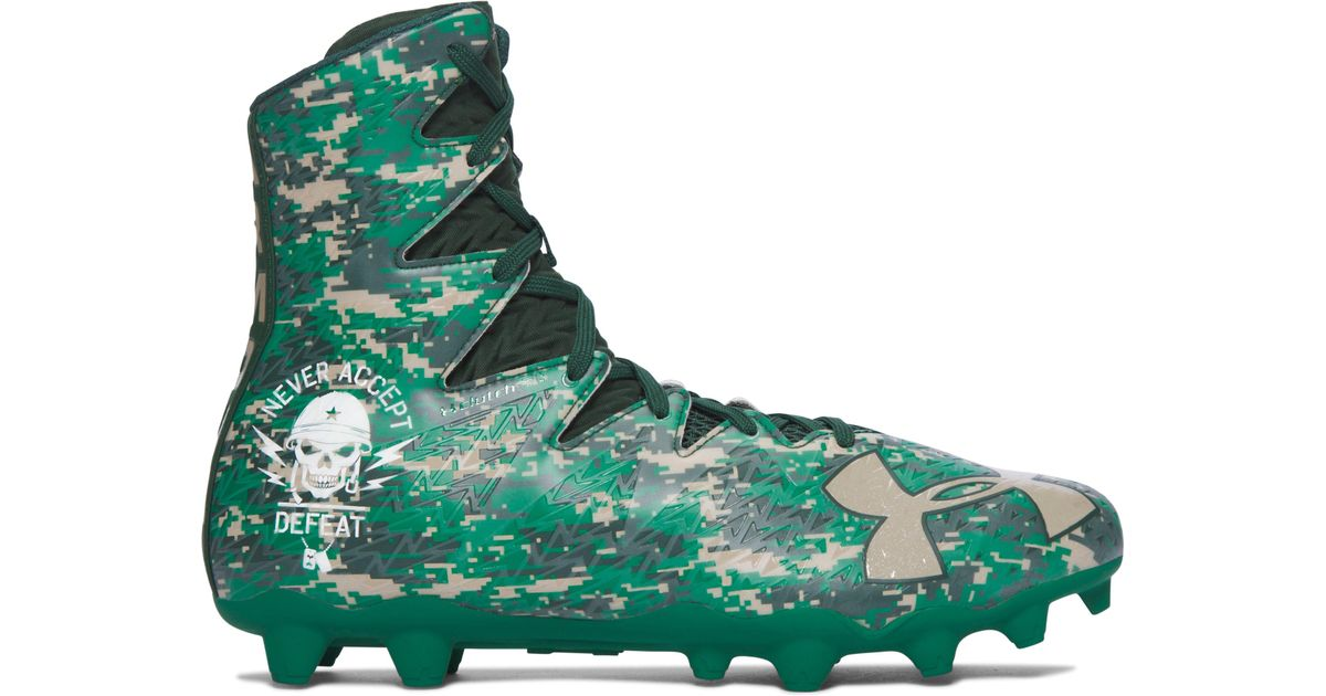 c99cca1005b Under Armour Men s Ua Highlight Mc – Limited Edition Football Cleats in  Green for Men - Lyst