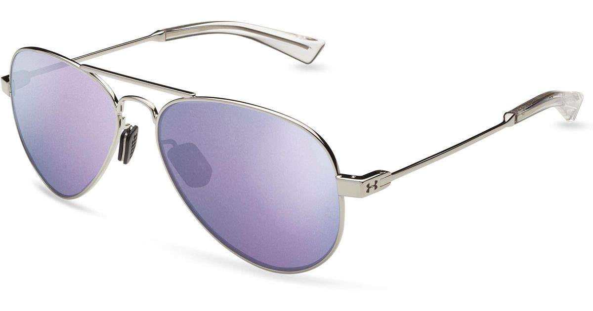 538a766f9 Lyst - Under Armour Women's Ua Getaway Mirror Sunglasses in Purple
