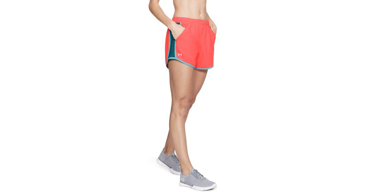 4a9d659f3e50e Lyst - Under Armour Women's Ua Fly-by Shorts