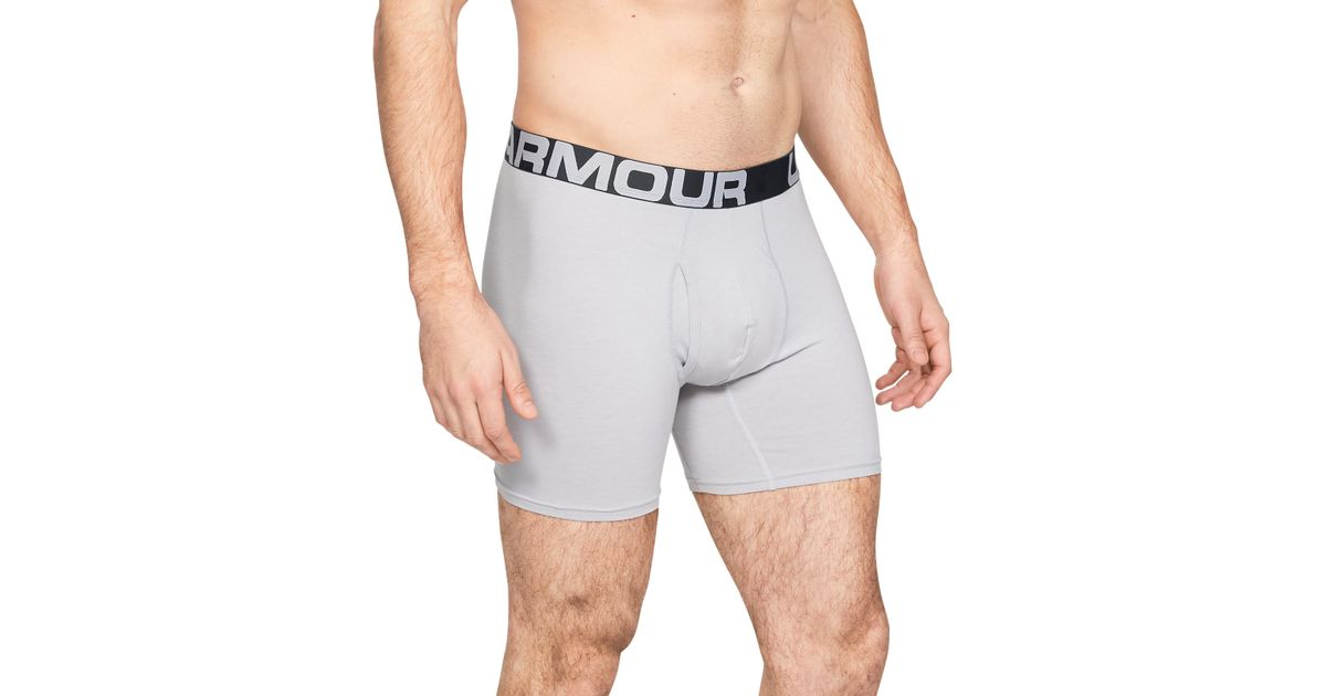 b08f12ab98d1 Under Armour Men's Charged Cotton® 6