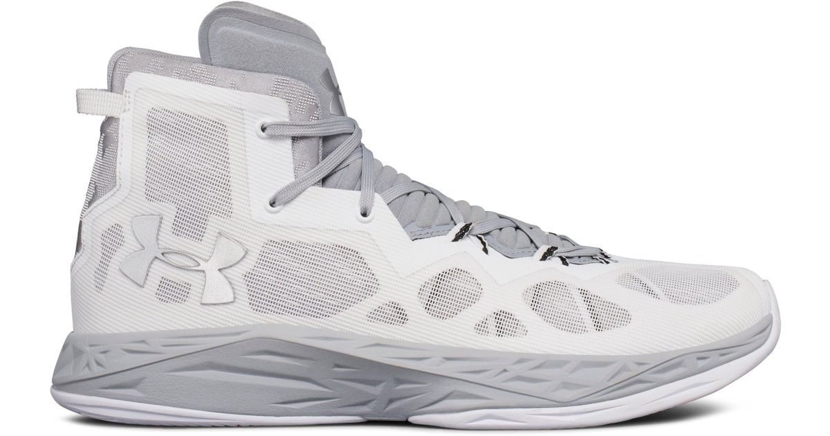 3a06a22563b3 Under Armour Men s Ua Lightning 4 Basketball Shoes in White for Men - Lyst