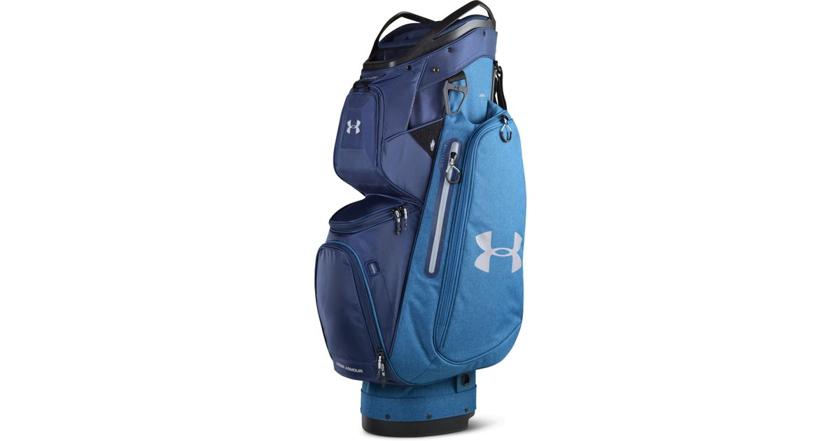 7fb66fa047 Lyst - Under Armour Men s Ua Storm Armada Cart Bag in Blue for Men