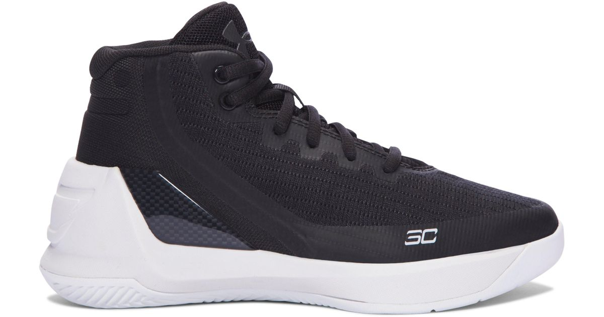 c5ead0402ea Lyst - Under Armour Pre-school Ua Curry 3 Basketball Shoes in Black for Men