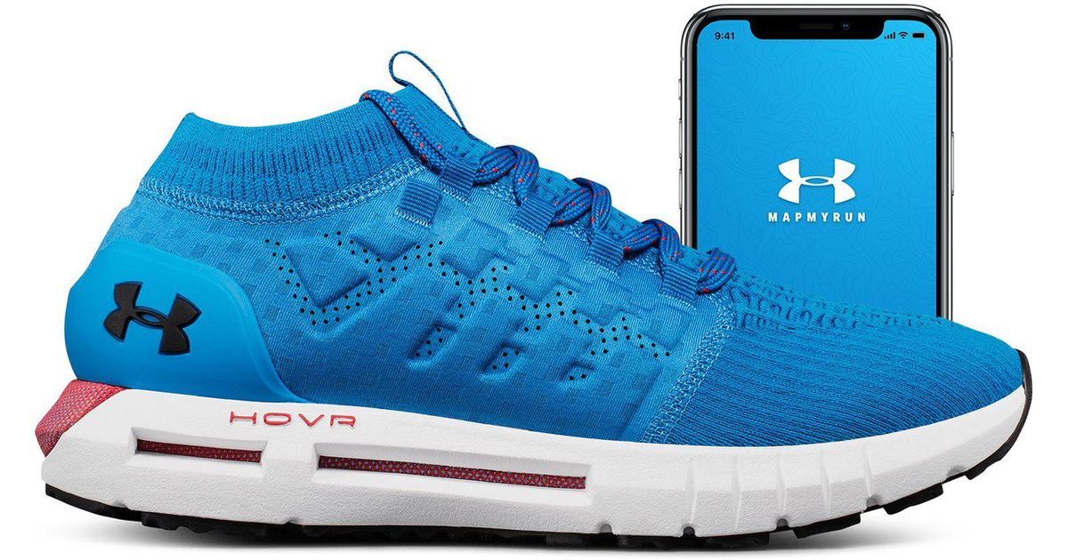 1913cb947ed12 ... canada lyst under armour mens ua hovr phantom connected running shoes  in blue for men 1a82a