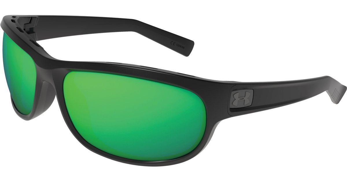 6d2e5e98b6f6 Lyst - Under Armour Ua Capture Storm Polarized Sunglasses in Green for Men