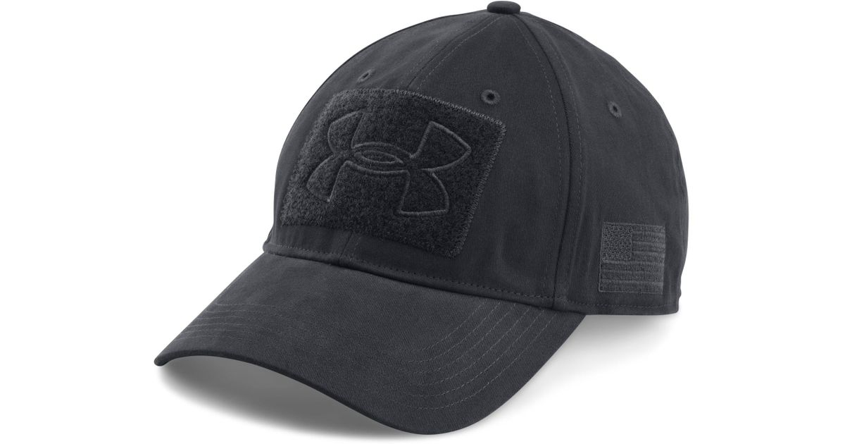 51430360ce8 ... get lyst under armour mens ua tactical patch cap in blue for men 3f83c  72e37