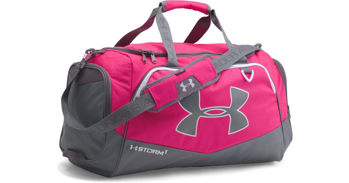 1733a7b0f0 Lyst - Under Armour Ua Team Storm Undeniable Medium Duffle in Pink for Men