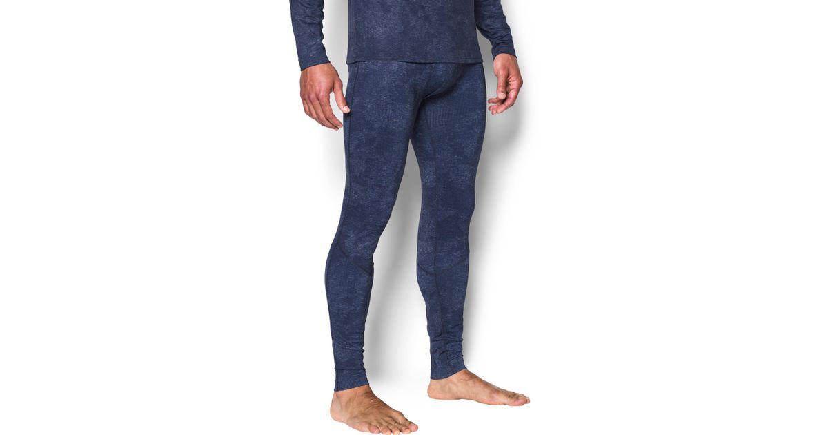 097838659b0f42 Under Armour Men's Ua Coldgear® Infrared Fitted Leggings in Blue for Men -  Lyst