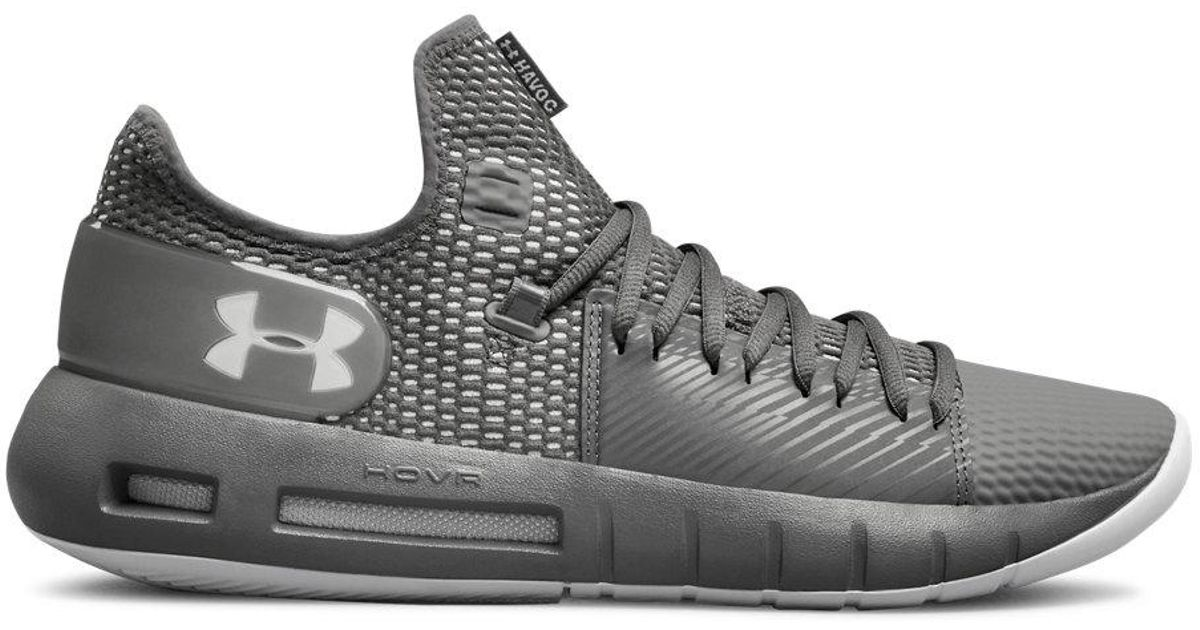 sports shoes 1894b 446eb Under Armour - Gray Hovr Havoc Low for Men - Lyst