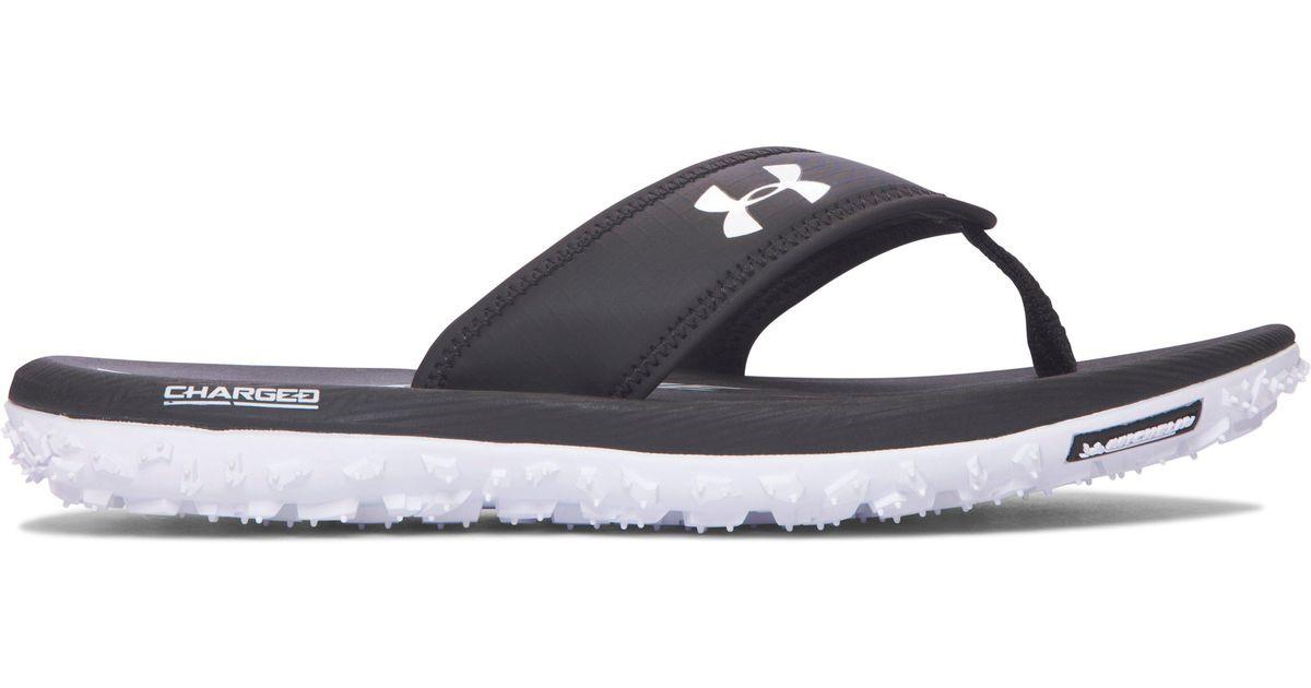 c8f17a993c6e Lyst - Under Armour Men s Ua Fat Tire Sandals for Men