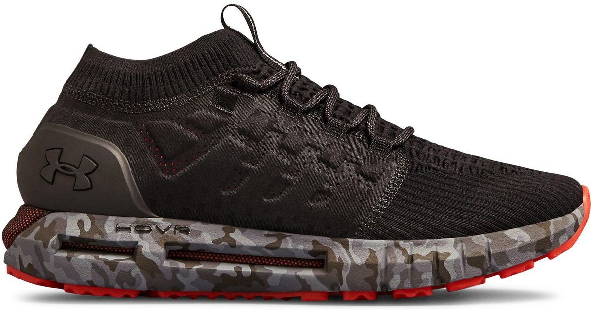 5a44ddded10f Lyst - Under Armour Men s Ua Hovr Phantom Camo Shoes in Black for Men