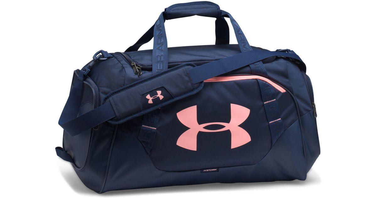 Lyst Under Armour Men S Ua Undeniable 3 0 Medium Duffle Bag In Blue For