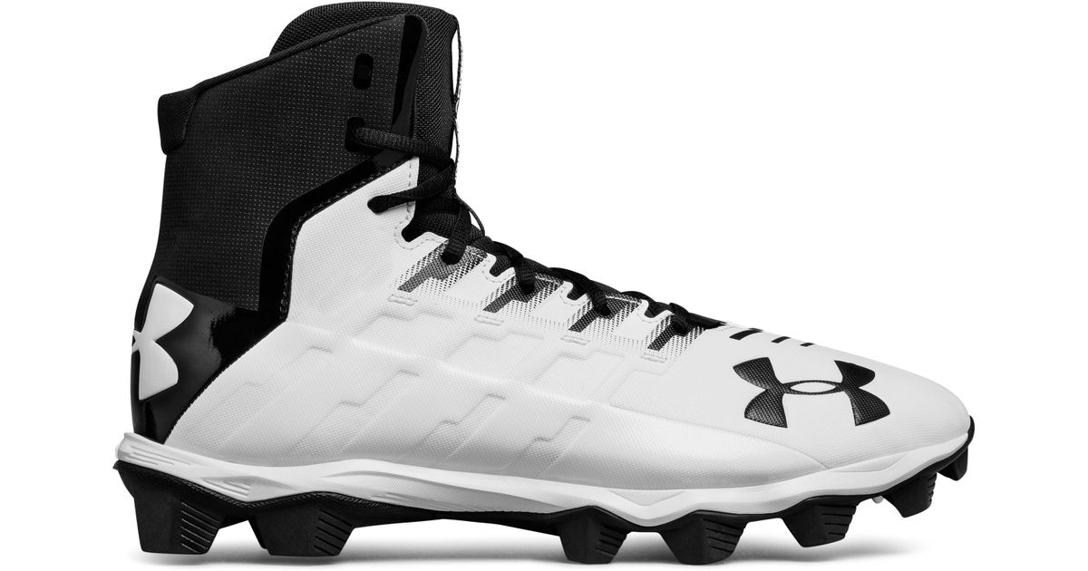 3661b1c57ba Under Armour Men s Ua Renegade Rm Football Cleats in Black for Men - Lyst
