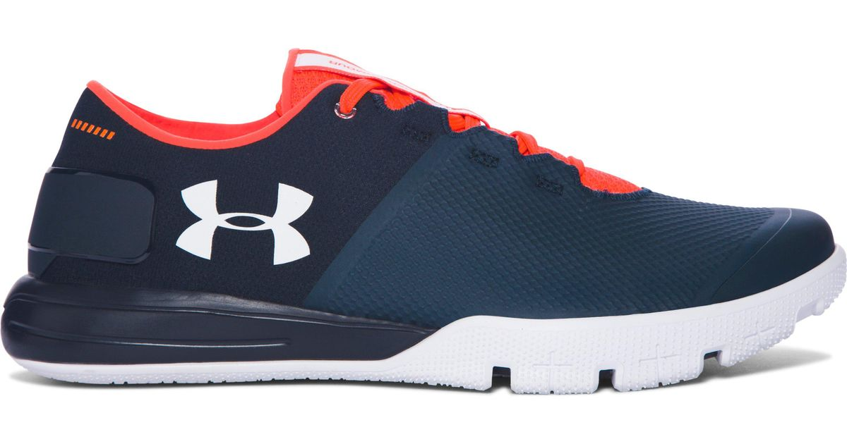 9d7b89fd0dab Under Armour Men s Ua Charged Ultimate 2.0 Training Shoes in Blue for Men -  Lyst
