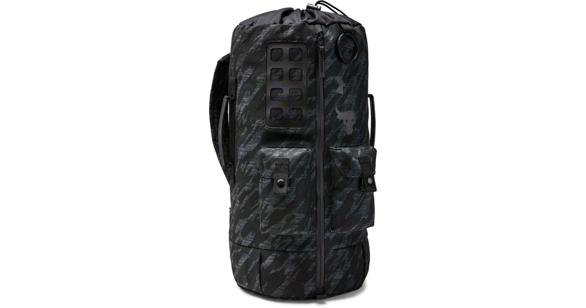 38f0bb2eaa Under Armour Men's Ua X Project Rock 60 Bag in Black for Men - Lyst