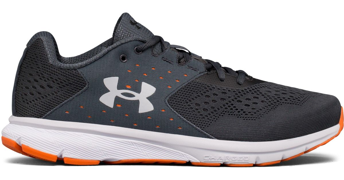 18ef81726eaa Lyst - Under Armour Men s Ua Charged Rebel – Wide (2e) Running Shoes for Men