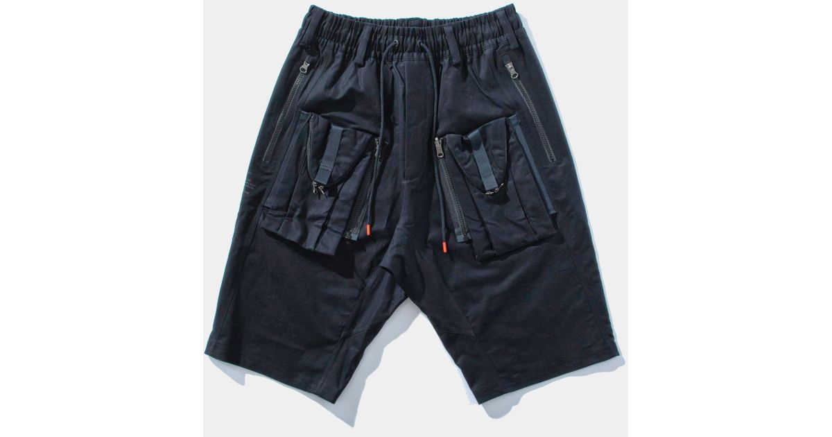 new concept 70df5 11d66 Nike Lab Acg Deploy Crg Shorts in Black for Men - Lyst