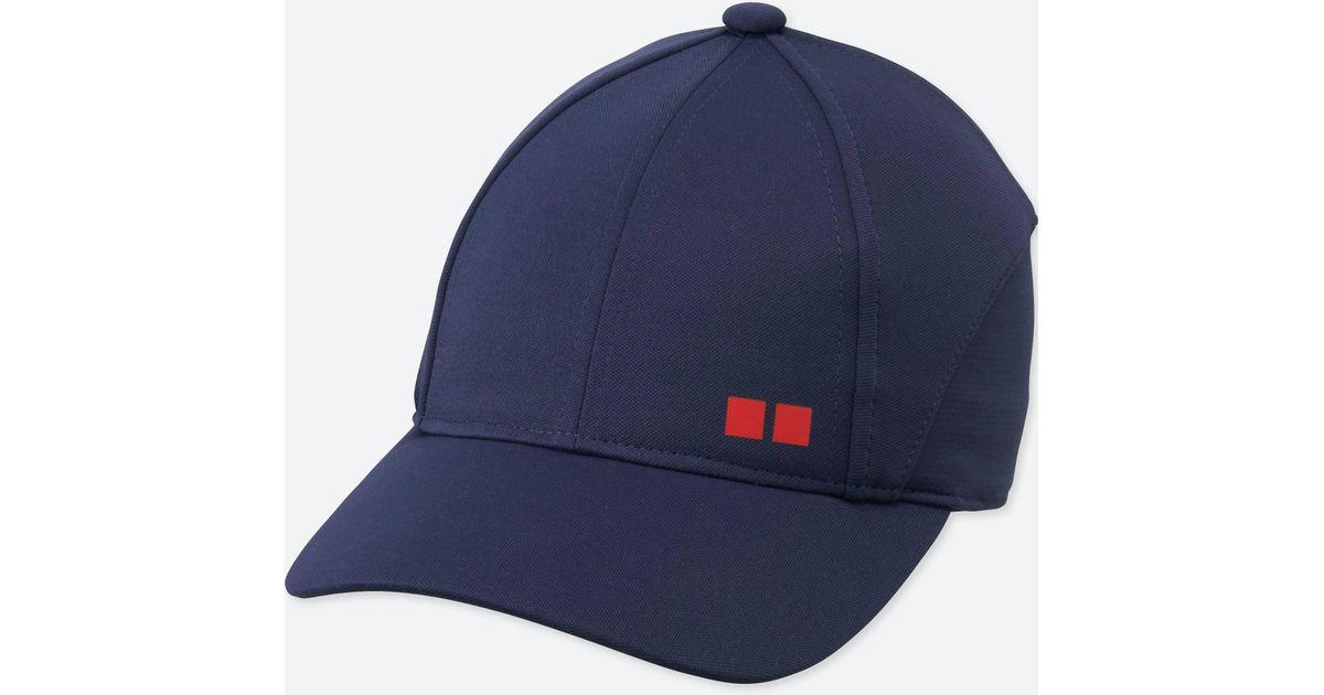 Lyst - Uniqlo Tennis Cap in Blue for Men c6e3ccb6839