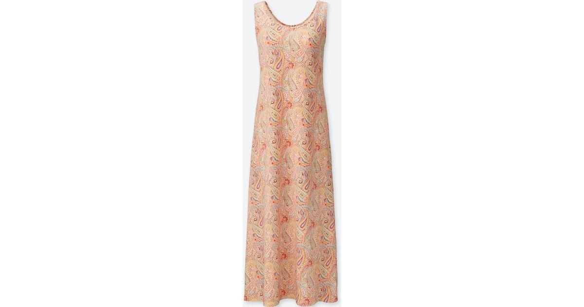 bc1f4110ae Lyst - Uniqlo Women Studio Sanderson For Bra Dress in Red