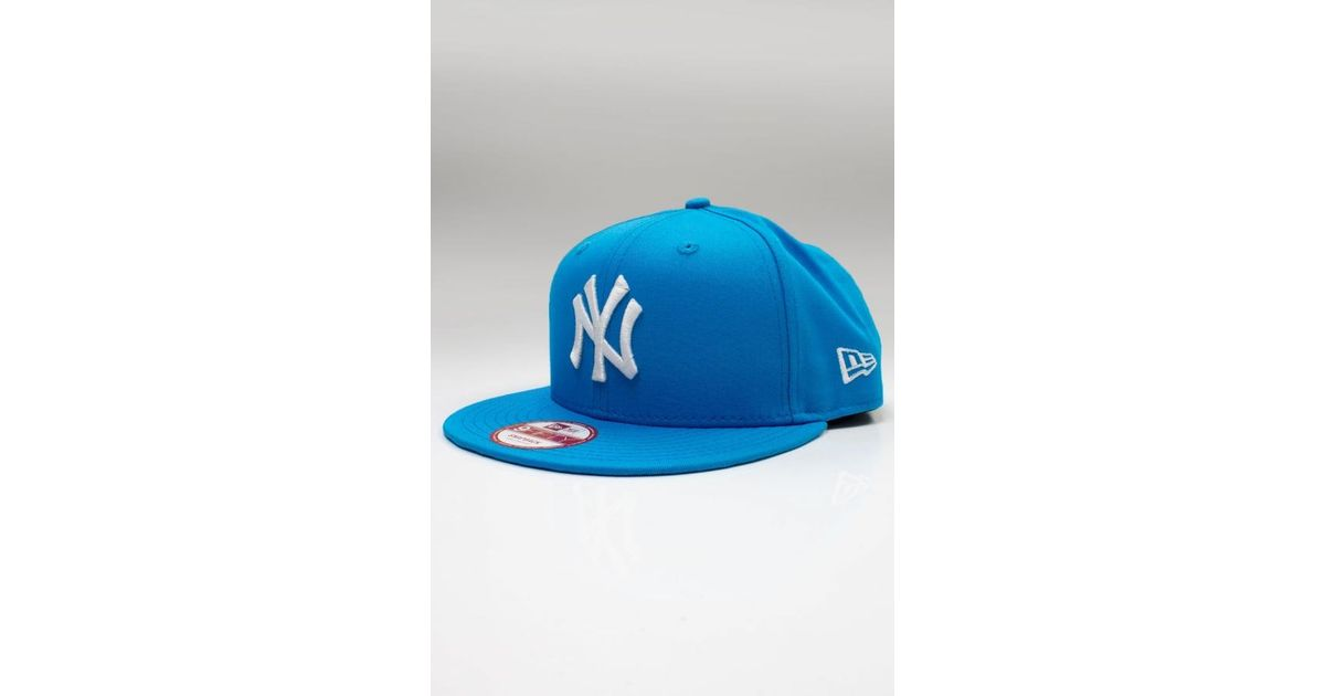 c81faf03a4193 Ktz Essential New York Yankees 9fifty Snapback in Blue for Men - Lyst