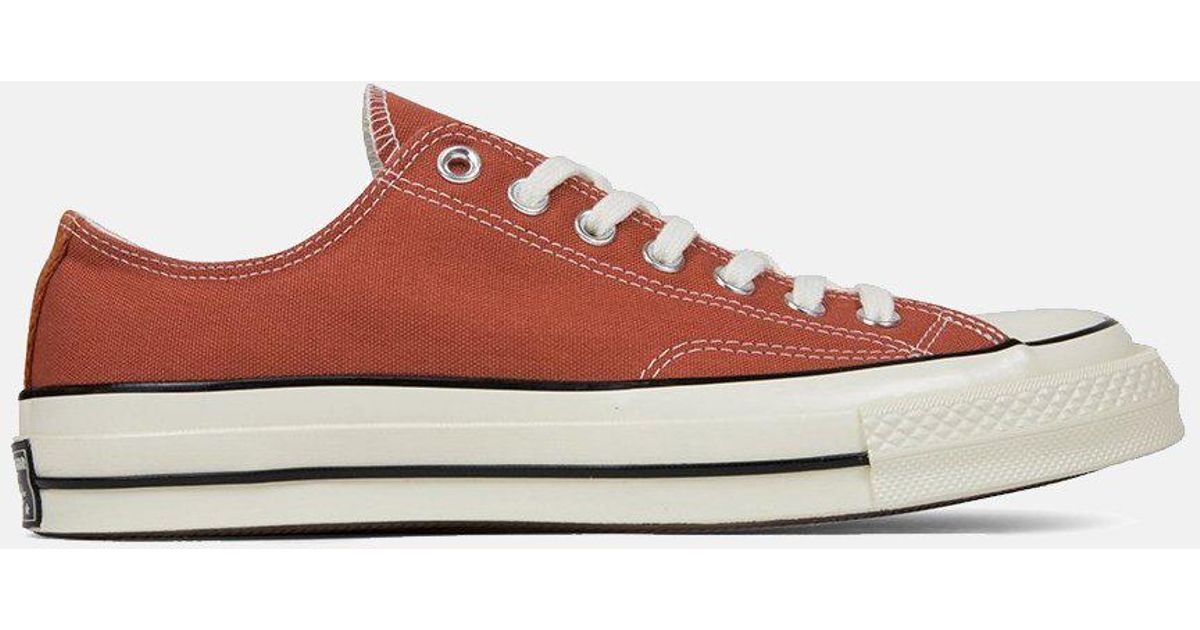 658ea57575009f Converse 70 s Chuck Low 161505c (canvas) in Red for Men - Lyst