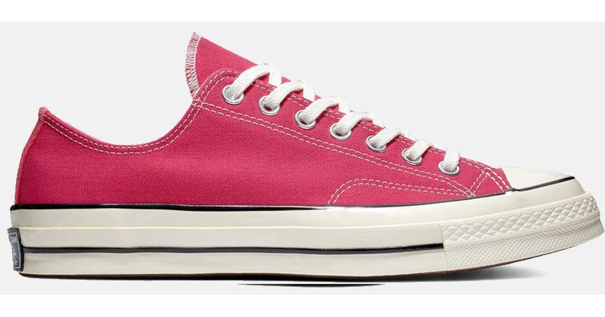 91f721f7c3f8 Converse 70 s Chuck Low 161445c (canvas) in Pink for Men - Lyst
