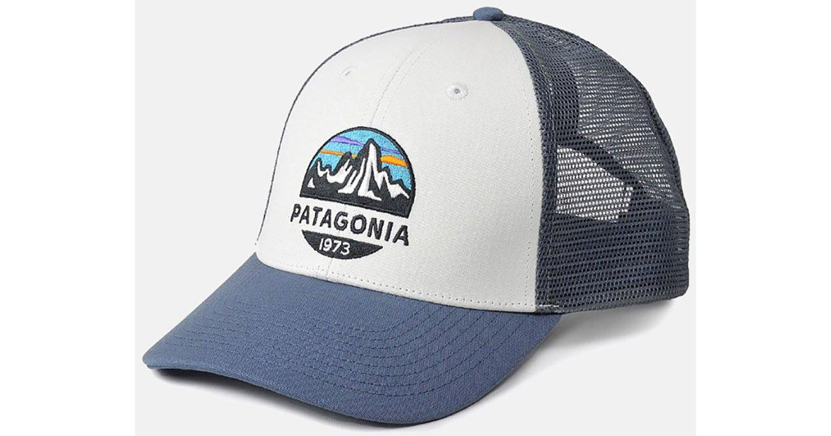 Patagonia Fitz Roy Scope Lopro Trucker Cap in White for Men - Lyst acba4d879d2