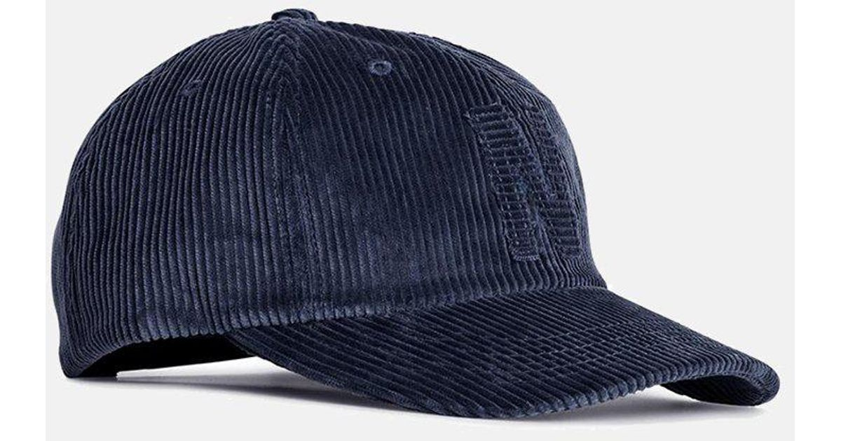 Lyst - Norse Projects 6-panel Cap (corduroy) in Blue for Men 56cd9281382
