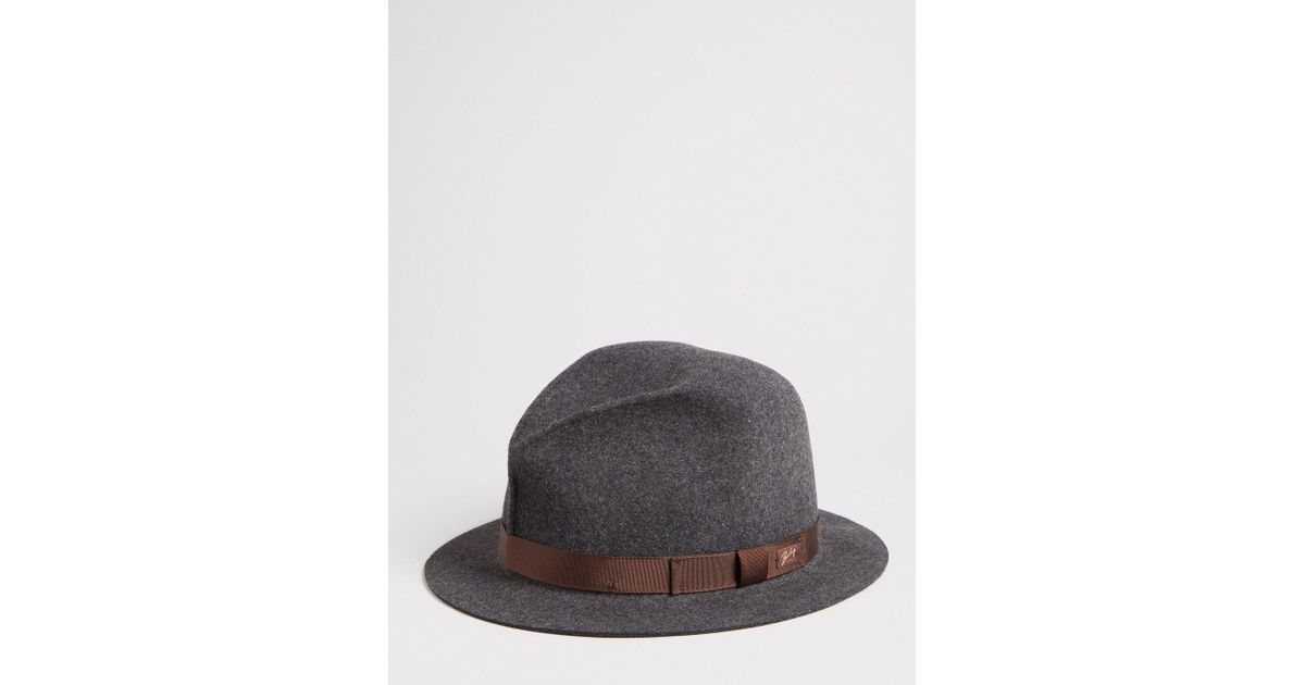 ff6f9461 Bailey of Hollywood Bailey Dean Unstructured Fedora in Gray for Men - Lyst