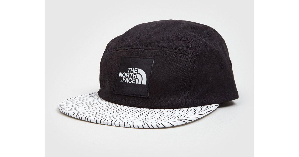 f7774eef879 Lyst - The North Face Tnf 5-panel Cap in Black for Men