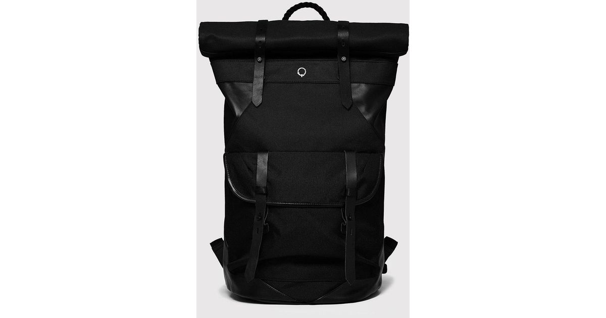 dccb0e7c9286 Stighlorgan Ronan Rolltop Laptop Backpack in Black for Men - Lyst