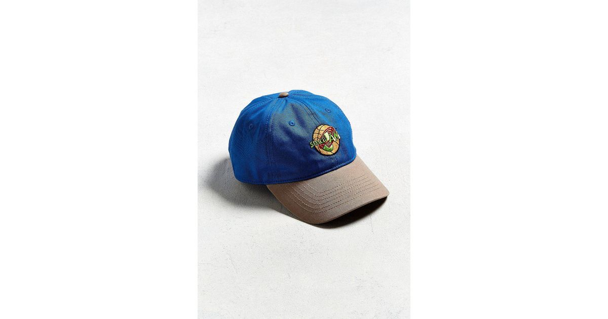 Lyst - Urban Outfitters Space Jam Baseball Hat in Blue for Men ffe013733a9