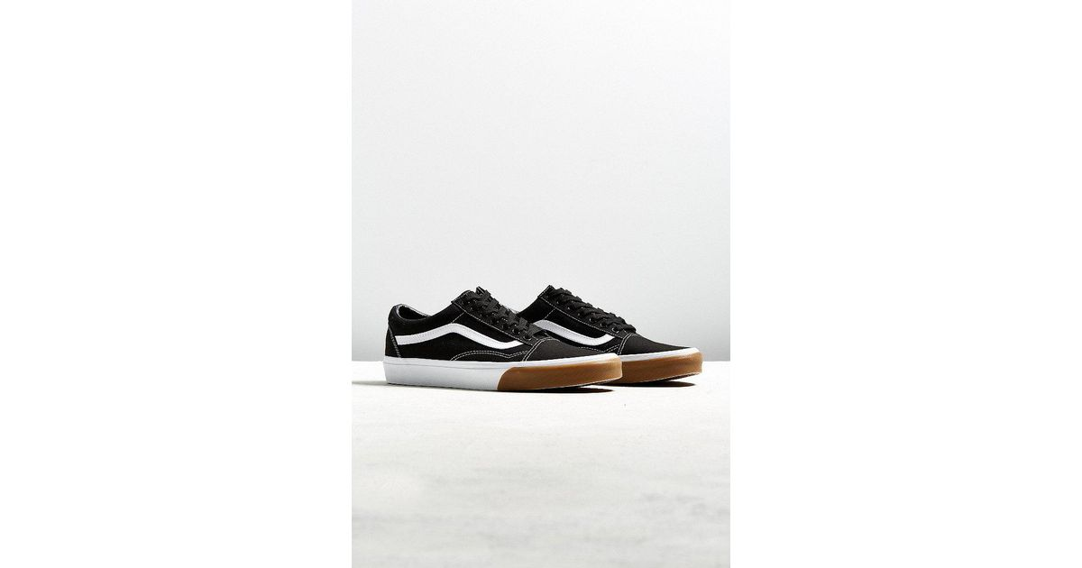 b5f40f8cd57 Lyst - Vans Vans Old Skool Gum Sole Sneaker in Black for Men