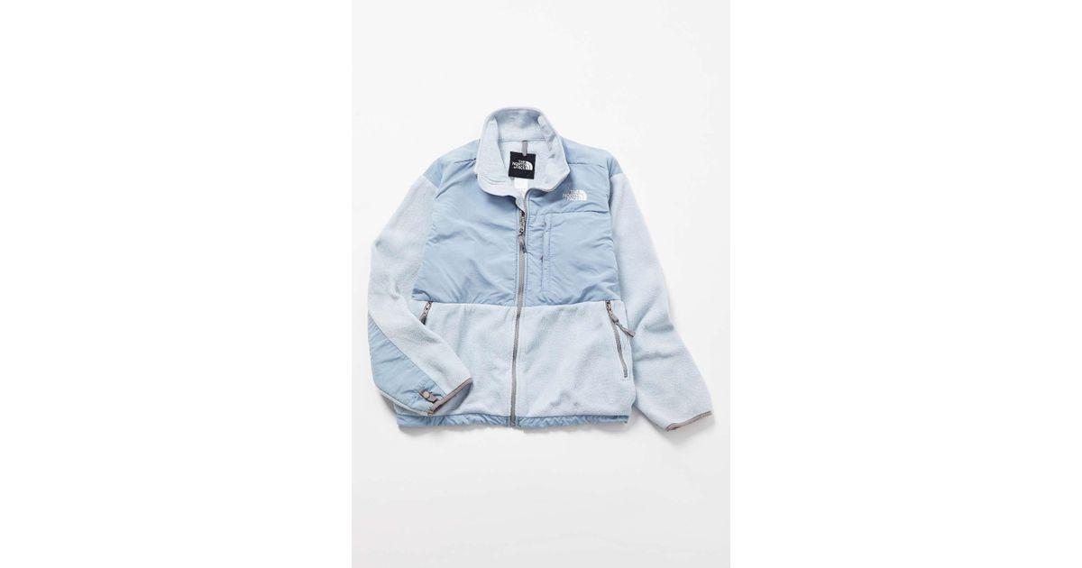 c96ca90f4 Urban Renewal - Vintage The North Face Sky Blue Fleece Jacket - Lyst