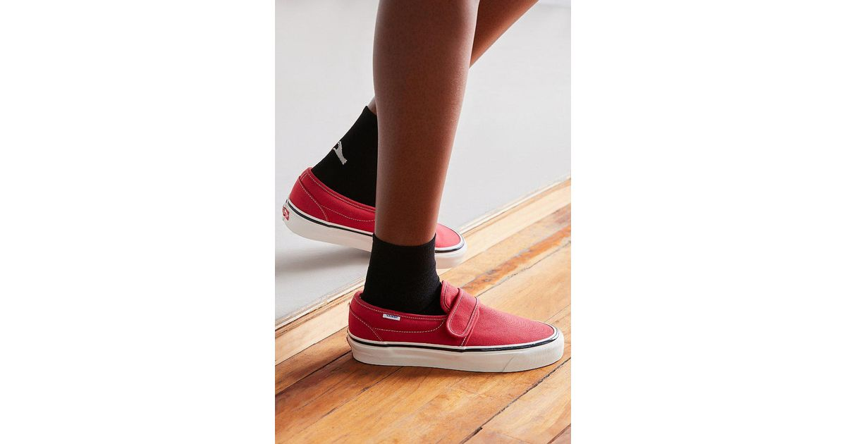 b5ee7cca2226 Lyst - Vans Vans Anaheim Factory 47 V Dx Slip-on Sneaker in Red