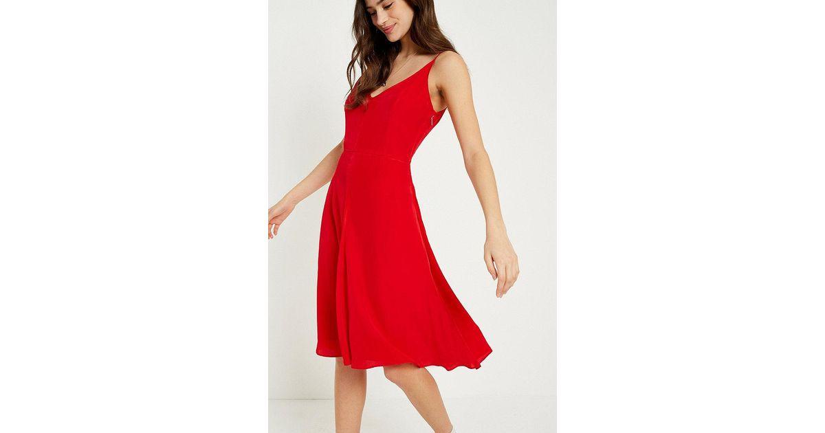 Cheap Sale Wholesale Price Low Shipping Crepe Slip Dress Calvin Klein PSpFrD