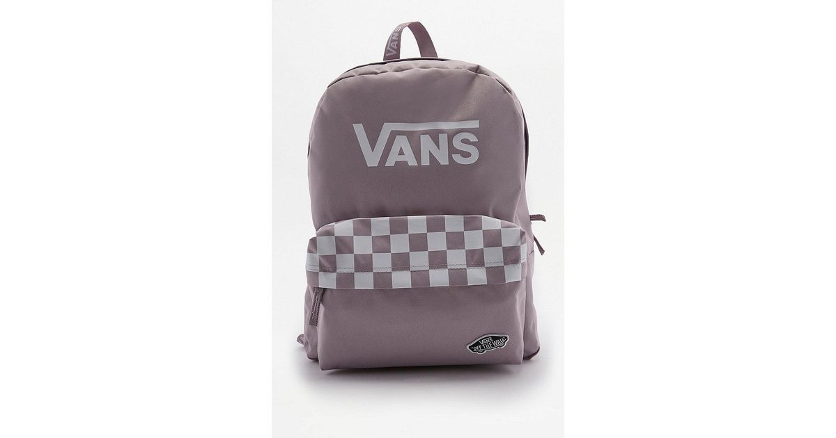d27adb6294c Vans Sporty Realm Lilac Backpack in Purple - Lyst
