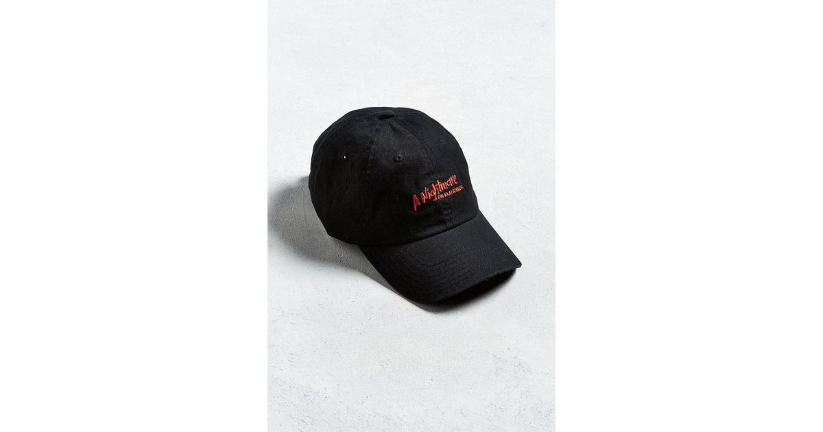 58ca8e869c0d5 Urban Outfitters Nightmare On Elm Street Dad Hat in Black for Men - Lyst