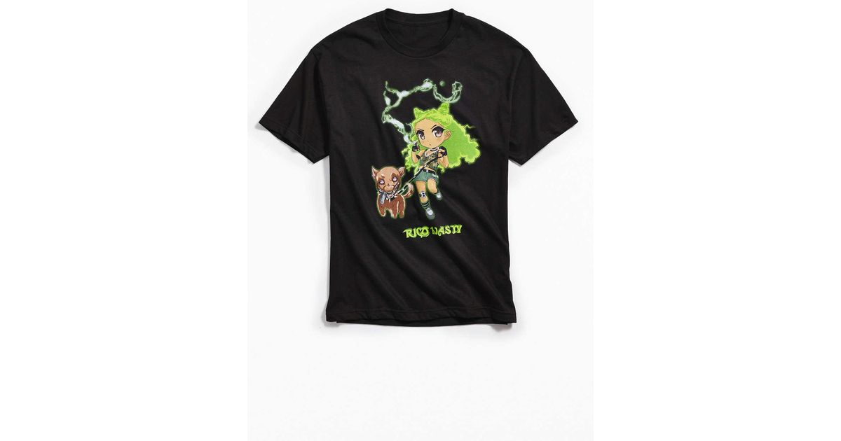 202155e78 Urban Outfitters Rico Nasty Tee in Black for Men - Lyst
