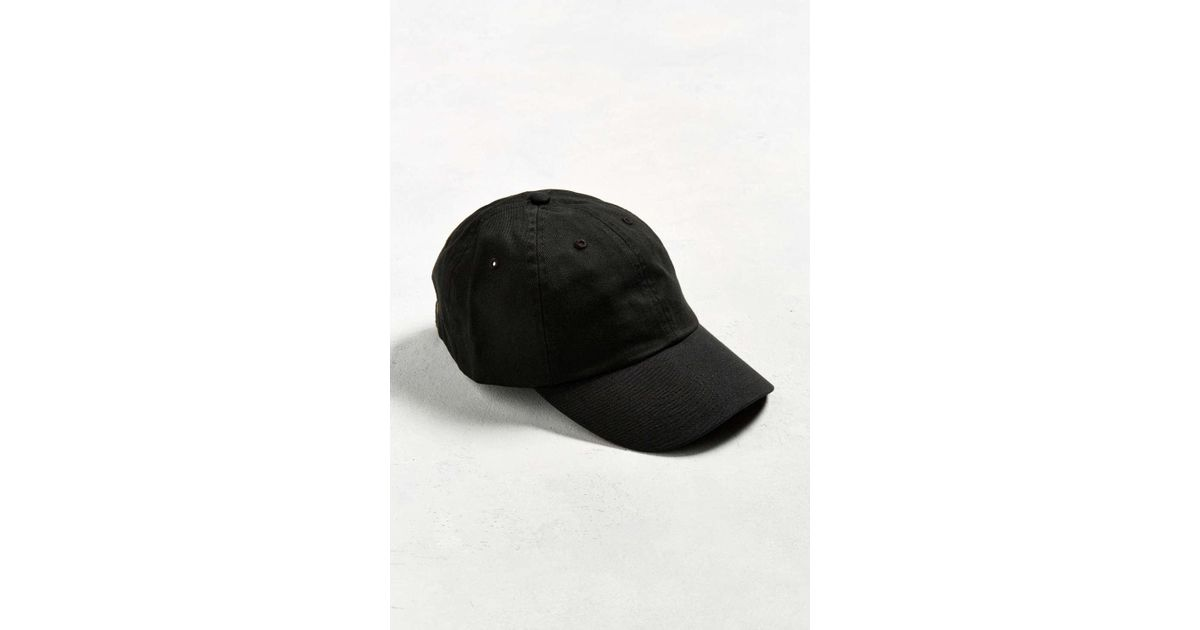 ac6693e2c00 Lyst - Urban Outfitters Uo Curved Brim Baseball Hat in Black for Men