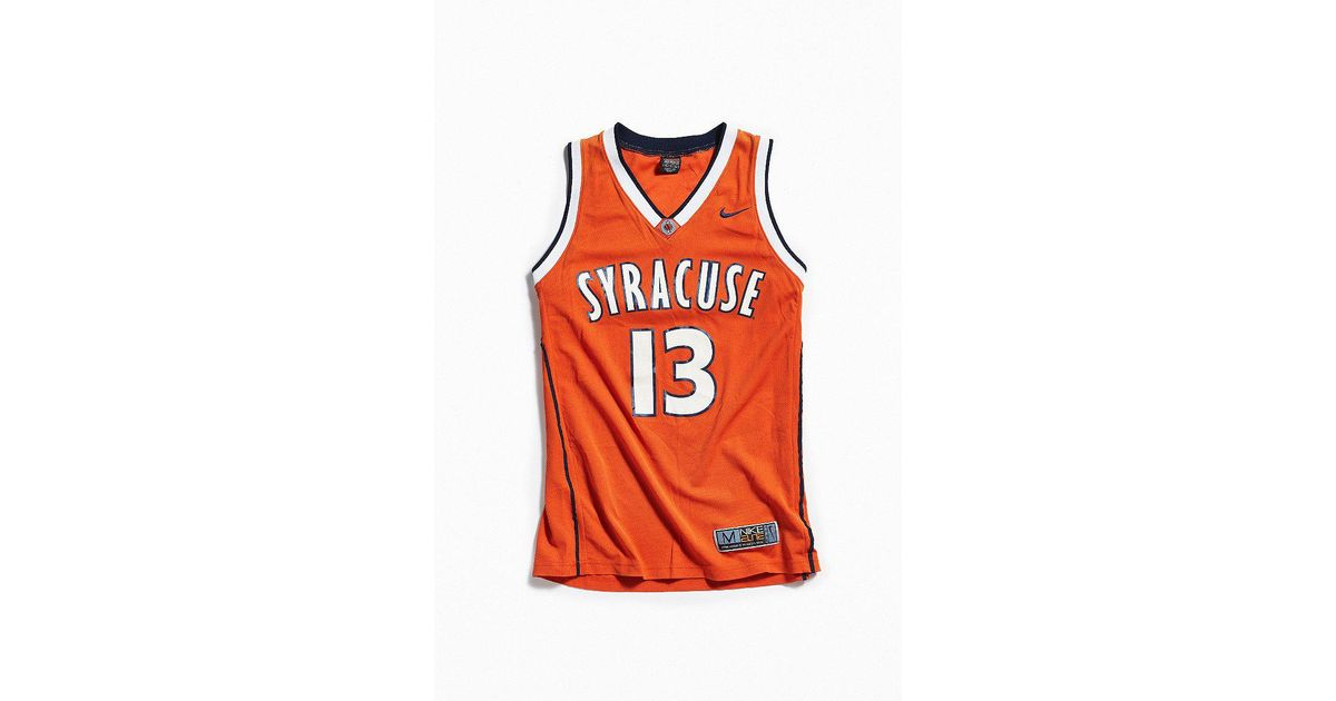 Lyst Urban Outfitters Vintage Nike Syracuse University Basketball