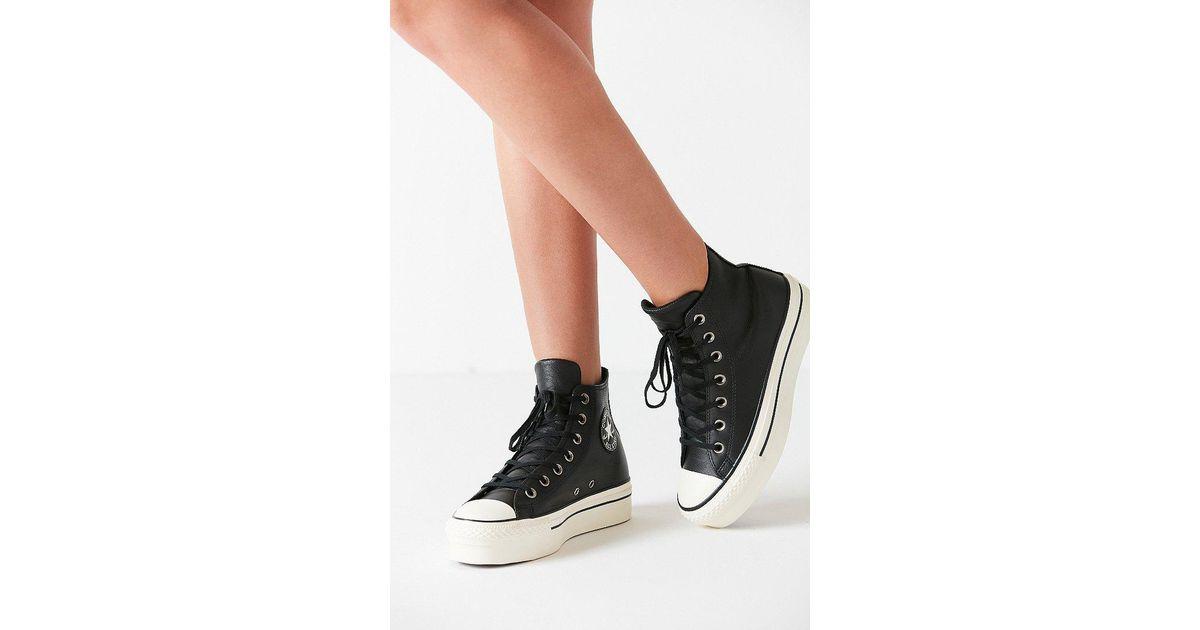 934b96502b20 Lyst - Converse Converse Chuck Taylor All Star Platform High Top Sneaker in  Black