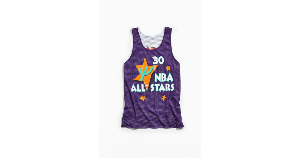 c4b91b08bfeae Lyst - Mitchell   Ness Chicago Bulls Scottie Pippen Reversible Tank Top in  White