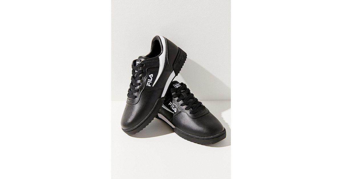 wholesale dealer 56f51 e3f27 Lyst - Fila Fila Original Fitness Ripple Sneaker in Black