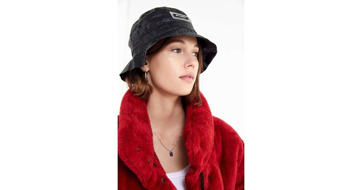 15172997b27 Lyst - Stussy Vera Bucket Hat in Black