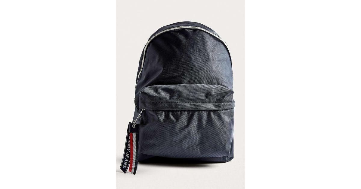 272953a1954 Tommy Hilfiger Logo Navy Backpack - Mens All in Blue for Men - Lyst