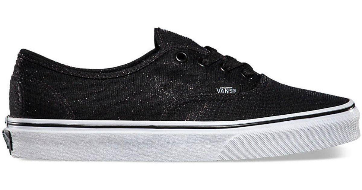 szczegóły dla nowy koncept jak kupić Vans - Black Authentic Shimmer Unisex - Lyst