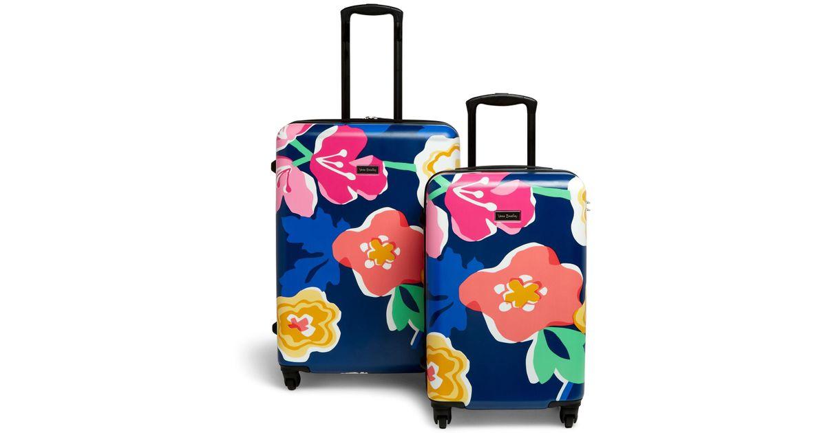 96dcab1d79 Lyst - Vera Bradley Hardside Spinner Luggage Set in Blue