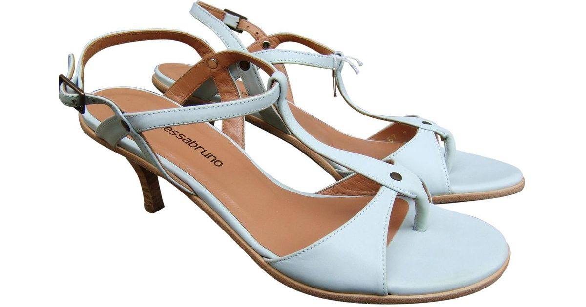 Pre-owned - Leather sandals Vanessa Bruno x8Gkd9